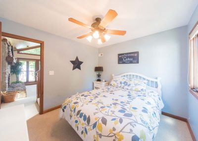 Barefoot Properties | Kentucky Lake Vacation Rentals | Lake Cottage | Guest Bedroom