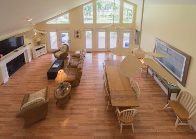 Barefoot Properties | Kentucky Lake Vacation Rentals | Lake House | View from Loft