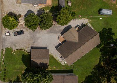 Barefoot Properties | Kentucky Lake Vacation Rentals | Lake House | Aerial View