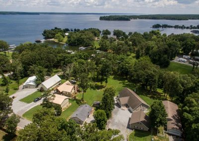 Barefoot Properties | Kentucky Lake Vacation Rentals | Lake House | Aerial View