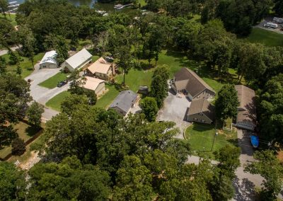 Barefoot Properties | Kentucky Lake Vacation Rentals | Lake House | Aerial View of Property